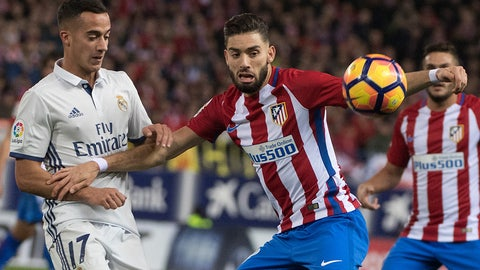 Yannick Carrasco offered some hope
