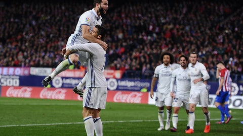 Real Madrid's depth is impressive