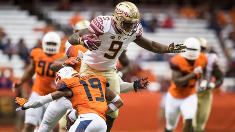 Florida State (8-3), re-rank: 17