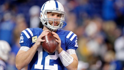 Colts (-2) over JETS (Over/under: 48)