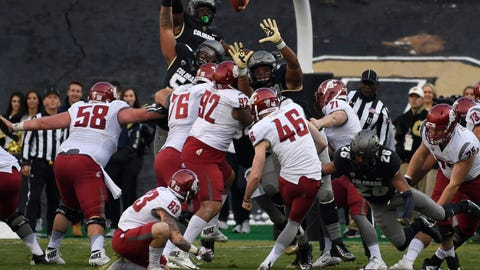 Washington State (8-3), re-rank: 26