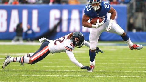 Giants 22 - Bears 16