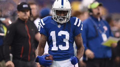 T.Y. Hilton, WR, Colts (back)