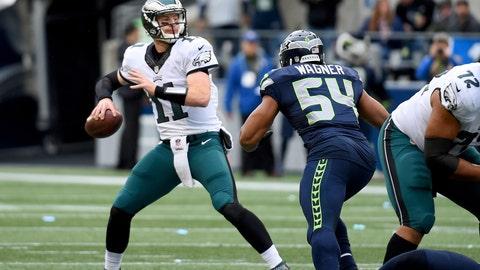 Philadelphia Eagles—Carson Wentz's poise