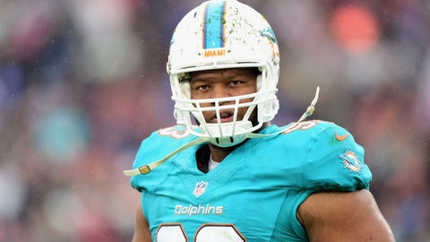 Miami Dolphins—Ndamukong Suh's curb stomp