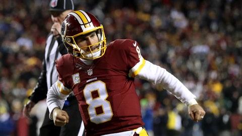 Kirk Cousins, Redskins