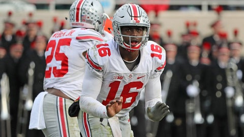 Ohio State (10-1), re-rank: 3