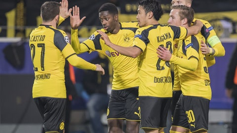 Borussia Dortmund (Previously: 8)