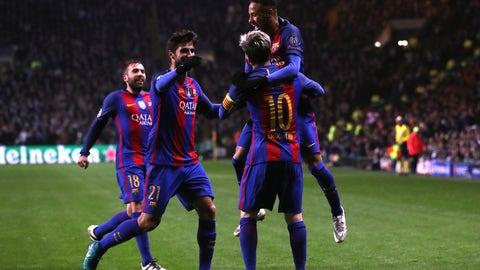 Barcelona (Previously: 4)