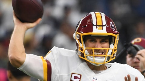 Washington Redskins—Kirk Cousins' consistency
