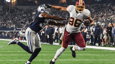 Jordan Reed, TE, Redskins (shoulder)