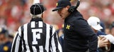 Why Jim Harbaugh, not the officials, deserves the blame for Michigan's loss to Ohio State