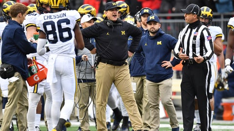 Harbaugh mismanaged the clock late in regulation