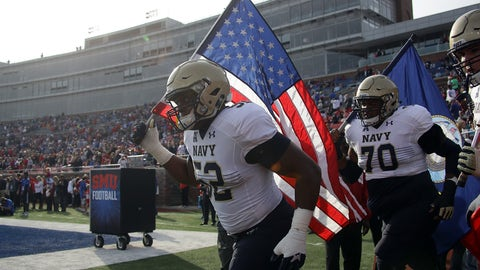 Navy Midshipmen (9-2)