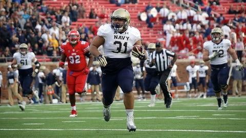 Navy (9-2), re-rank: 19