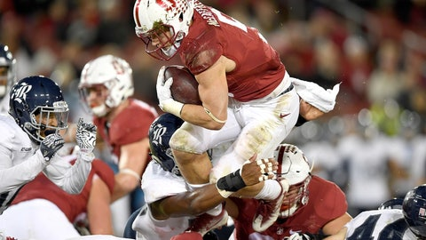 RB: Christian McCaffrey, Stanford