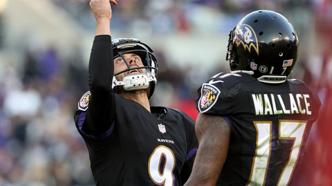 Baltimore Ravens—Justin Tucker's swagger