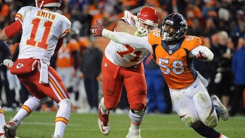 Denver Broncos—Von Miller's speed