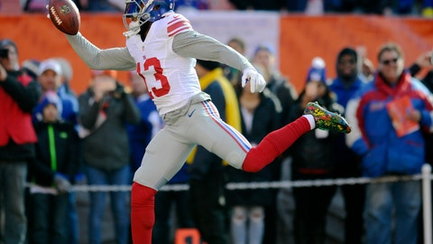 New York Giants—Odell Beckham Jr.'s claw-gripper
