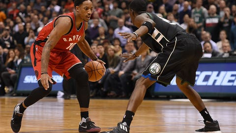 Most unrepentant: DeMar DeRozan