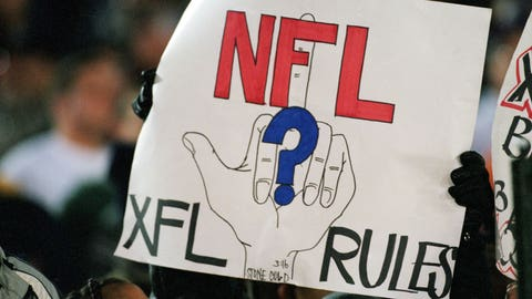 The XFL: No rules, just fights.