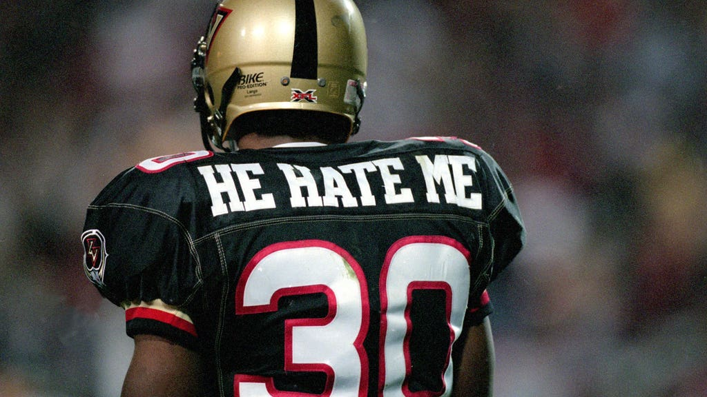 The 25 best nicknames from the XFL, ranked   FOX Sports