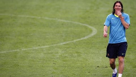Clean Cut Messi