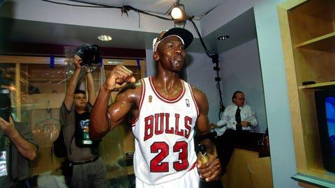 Year 11 (LeBron James: 2013-14; Michael Jordan: 1995-96)