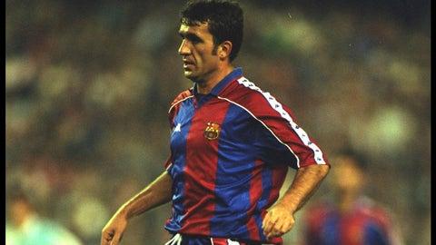 Gheorghe Hagi - (Real Madrid - 1990-92, Barcelona - 1994-96)