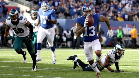 Giants 28 - Eagles 23