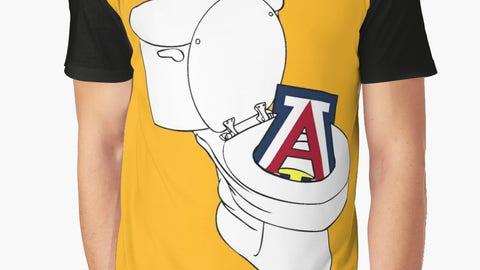 """""""U of A Toilet""""—Arizona-Arizona State"""