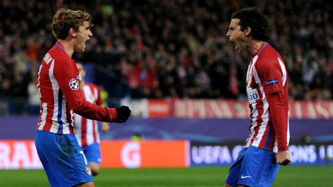 Atletico Madrid (Previously: 1)