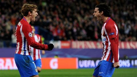 Atletico Madrid (Previously: 1)
