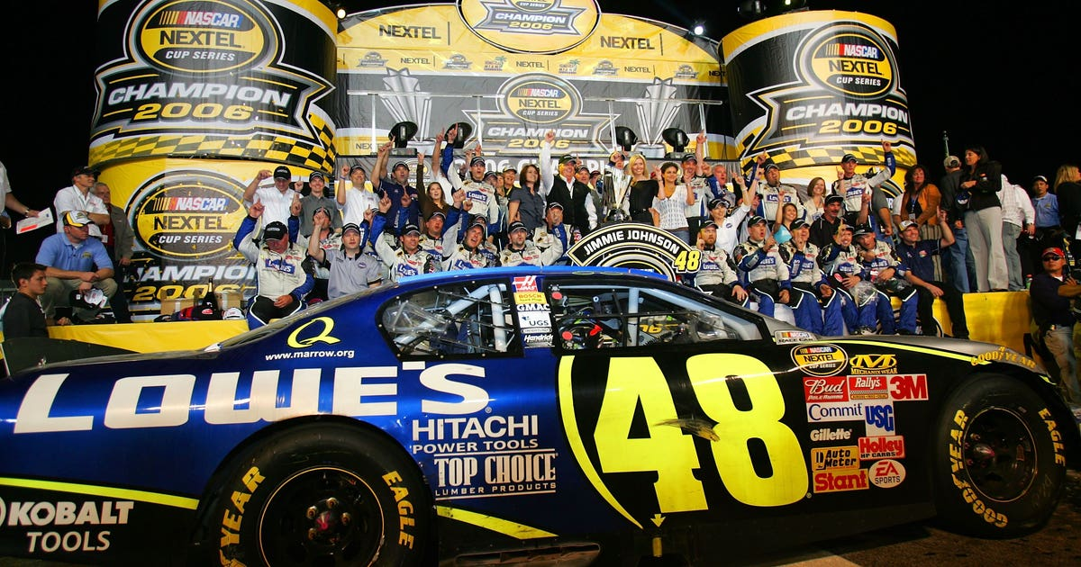 Reflecting on Jimmie Johnson's seven NASCAR championships in photos | FOX Sports