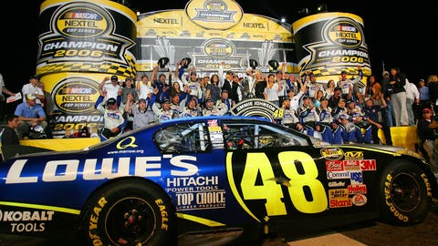 Looking back on Jimmie Johnson's seven NASCAR championships