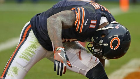 Chicago Bears wide receivers