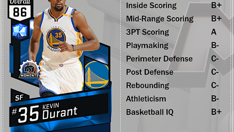 Sapphire Kevin Durant