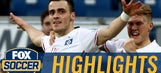 Filip Kostic puts Hamburg in front vs. Hoffenheim | 2016-17 Bundesliga Highlights