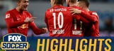 Orban heads in Leipzig's third for a 3-2 lead vs. Leverkusen | 2016–17 Bundesliga Highlights
