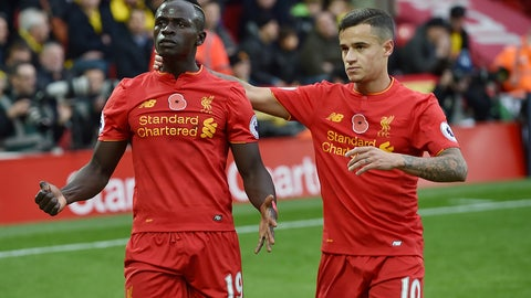 Saturday: Liverpool vs. Sunderland