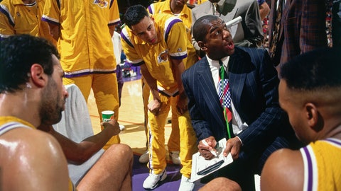 He was (briefly) head coach of the Lakers