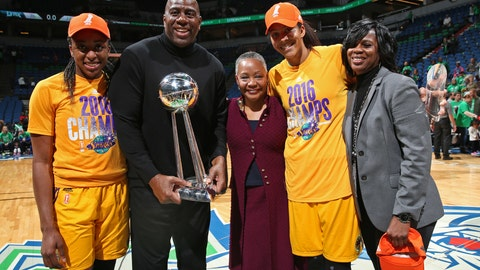 He is an owner of the WNBA's L.A. Sparks