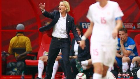 Martina Voss-Tecklenburg, Swiss national team