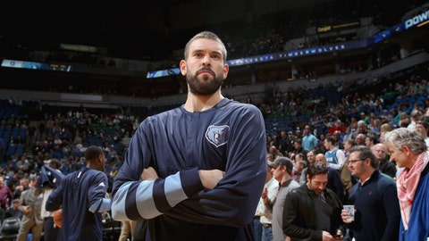To Memphis for Marc Gasol, 2018 first-round pick