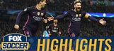 Messi strikes first for Barcelona vs. Man City | 2016-17 UEFA Champions League Highlights