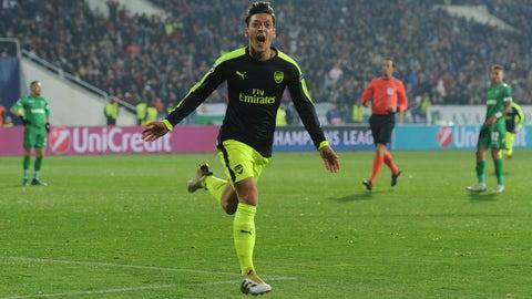 Arsenal (Previously: 5)