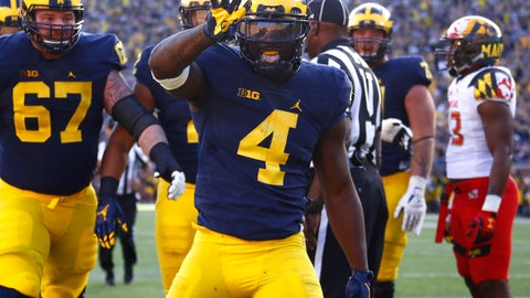 Michigan's power-run game takes away Ohio State's greatest strength
