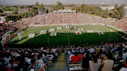 Major League Soccer's first game took place in San Jose, California