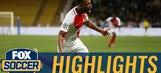 Monaco instantly retake the lead through Lemar | 2016-17 UEFA Champions League Highlights