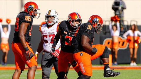 Oklahoma State: 103rd total defense